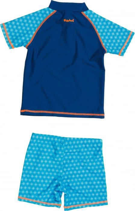 Costum de baie din două piese, protectie UV 50+_baieti_Albastru/Soricel 2