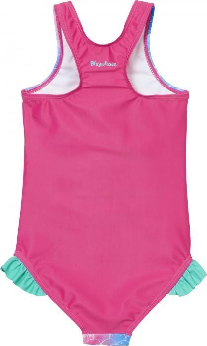 Costum de baie intreg, protectie UV50+_fete_Roz/Sirena 1