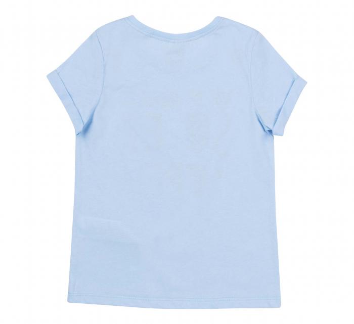 Tricou cu maneca scurta, bumbac 100%, fete, Albastru [1]
