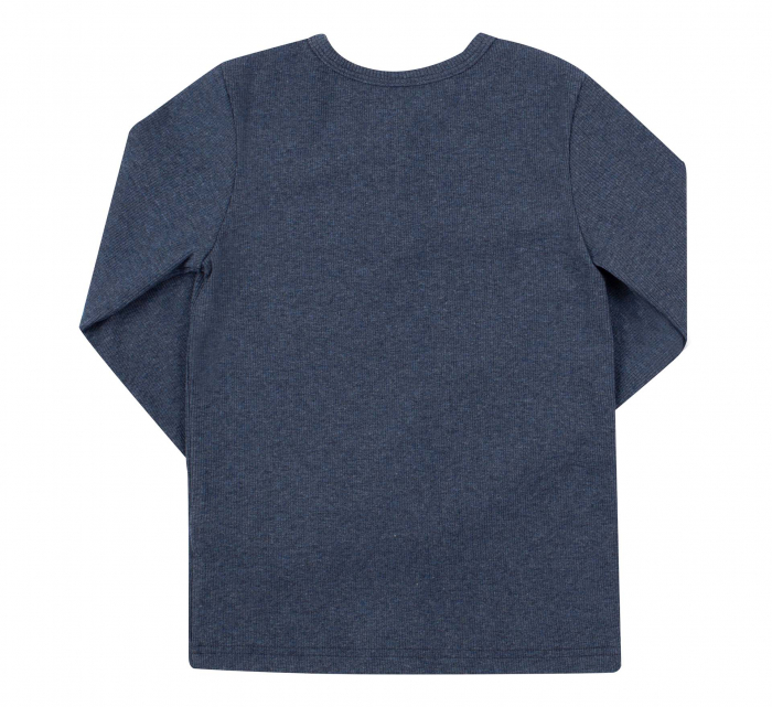 Bluza cu maneca lunga, baieti, Bleumarin [1]
