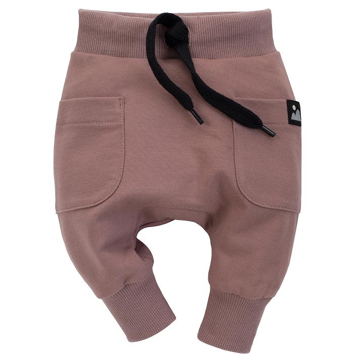 Pantalon lung cu buzunare, bumbac 100%, baieti, Bej, Dreamer [0]