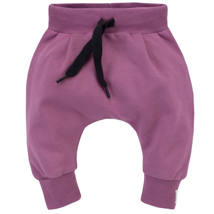 Pantalon trening, fete, bumbac 100%, Mov,  My Garden [0]