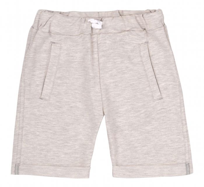 Compleu , tricou cu maneca scurta si pantalon scurt, baieti, Portocaliu/Gri [1]