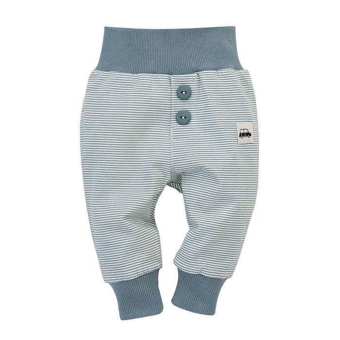 """Pantalon lung,""""leggings"""", baieti, Alb/Gri, Little Car 0"""