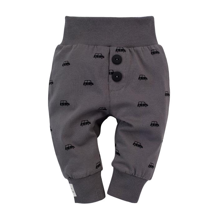 "Pantalon lung,""leggings"", baieti, Gri, Little Car 0"