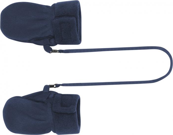 Manusi BABY din fleece, calitate OEKO-TEX, interior bumbac 100%, cu agatatoare si inchidere cu scai