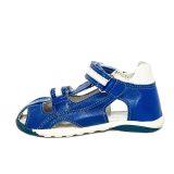 Sandale piele cu talpa flexibila, baieti, Albastru/Alb, Mario [2]
