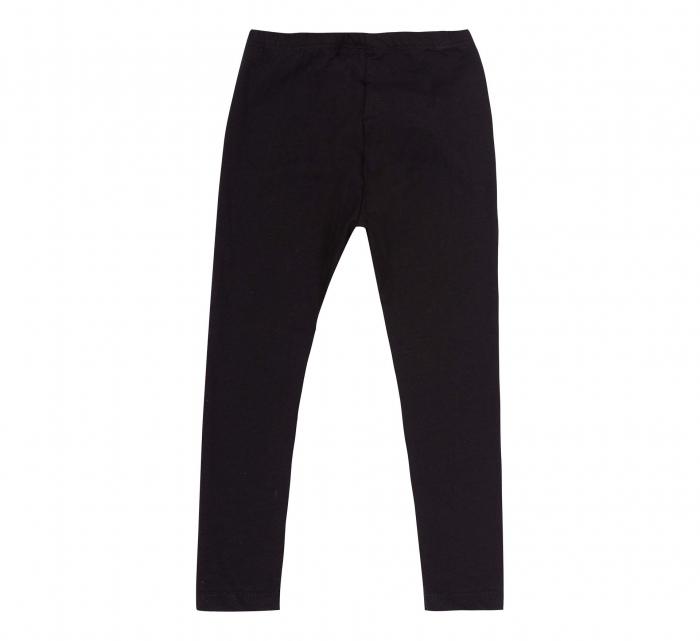 Pantalon lung, leggings, fete, Negru, Safary 1