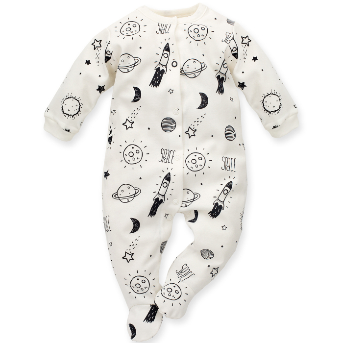 Pijama tip salopeta intreaga cu talpa bumbac 100%_Big dream 0