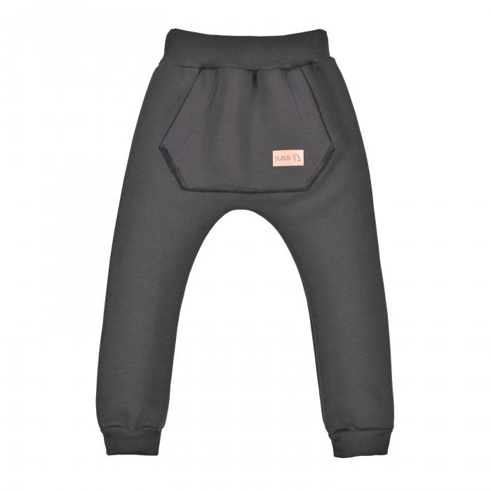 Pantalon gros, trening, cu buzunar mare, Grafit, Mexica [0]