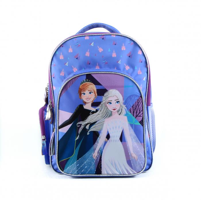Rucsac scoala, fete, Mov/Albastru, Frozen 41*16*32 [0]