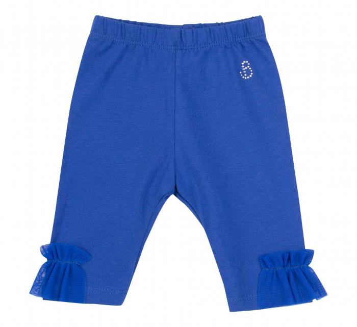 "Pantalon ""leggings"", 3/4, fete, Albastru electric [0]"