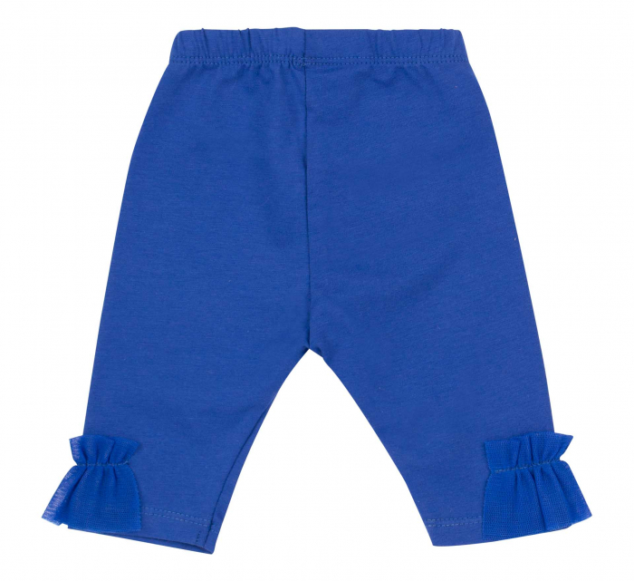 "Pantalon ""leggings"", 3/4, fete, Albastru electric [1]"