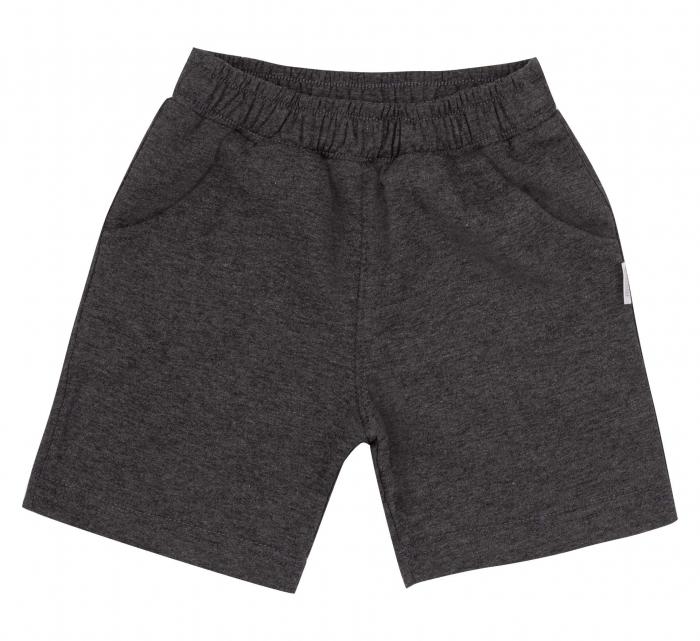Pantalon scurt cu buzunare, baieti, Gri inchis [0]