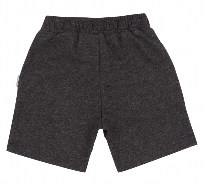 Pantalon scurt cu buzunare, baieti, Gri inchis [1]