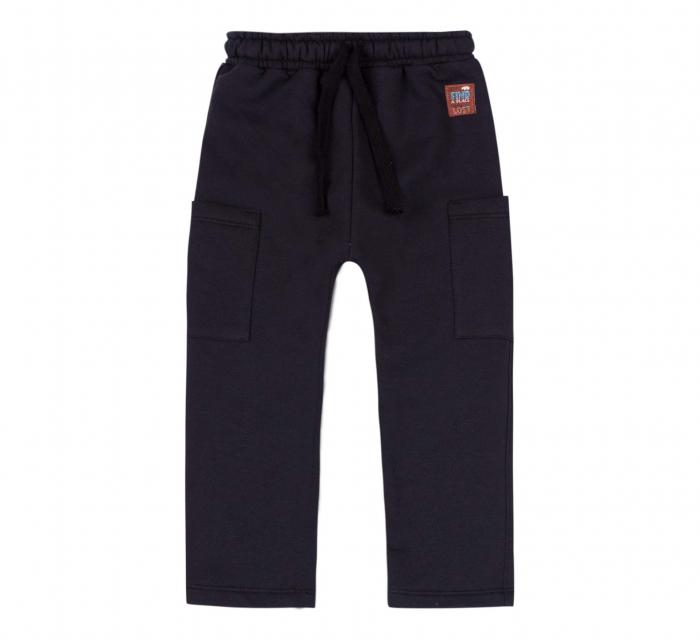 Pantalon trening, baieti, Negru [0]