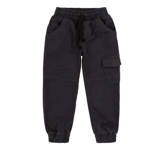 Pantalon lung tip blugi, Bumbac 100%, baieti, Bleumarin [0]