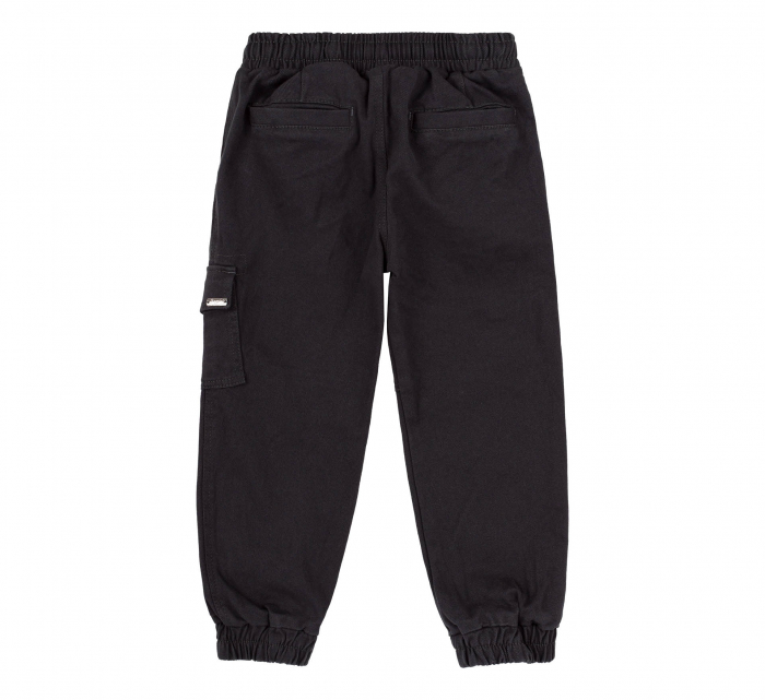 Pantalon lung tip blugi, Bumbac 100%, baieti, Bleumarin [2]