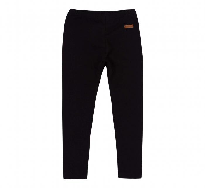 Pantalon lung, leggings, fete, Negru, Safary 0
