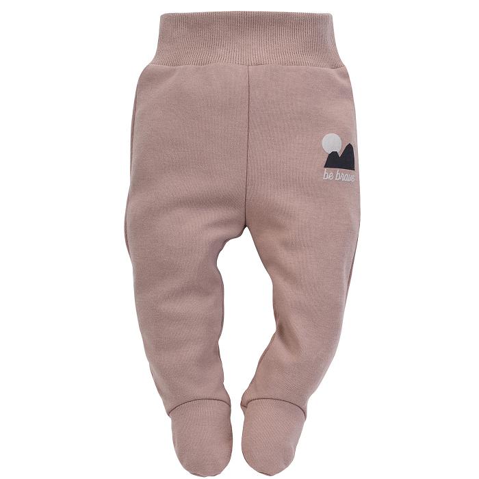 Pantalon cu talpa, bumbac 100%, baieti, Bej, Dreamer [0]