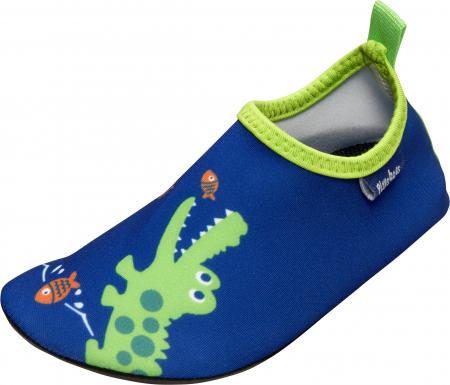 Incaltaminte de apa anti-alunecare, protectie UV50+, baieti, Albastru, Verde0