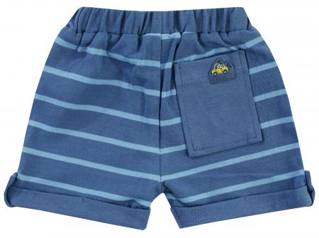 Pantalon scurt, vara, baieti, Albastru, Happy Car Friends [1]