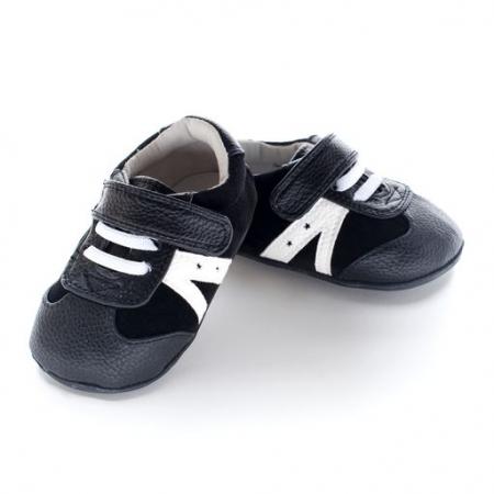 Pantofi sport, piele_CHUCK_baieti_Negru0