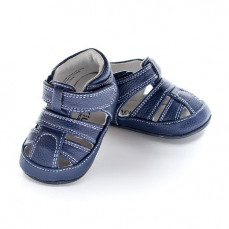 Sandale piele, baieti, Albastru, Hudson [0]