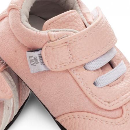 Pantofi sport, piele, fete, Roz, Willa2