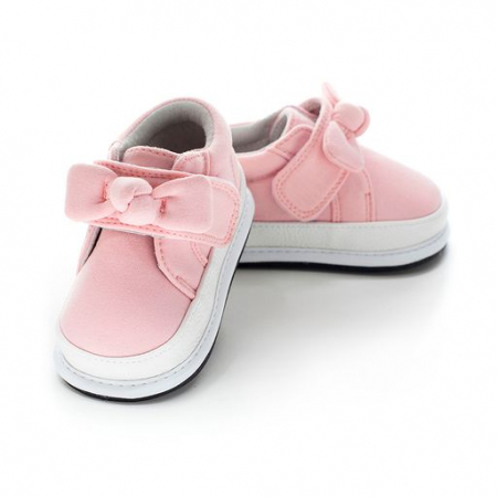 Pantofi casual, piele/textil, fete, Roz/Fundita, Vesper [0]