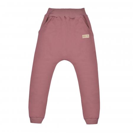 Pantalon lung cu buzunare, fete, Violet, Seven Heaven0
