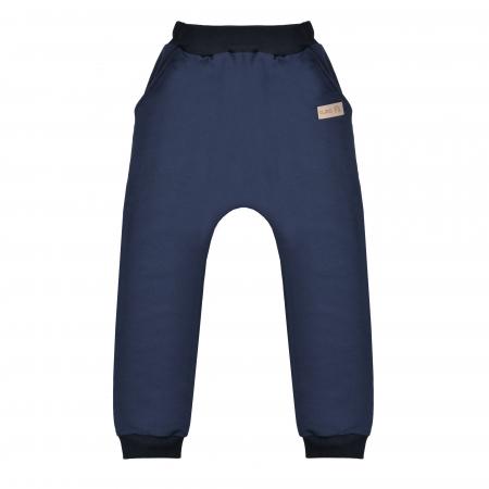 Pantalon lung cu buzunare, baieti, Bleumarin, Seven Heaven [0]