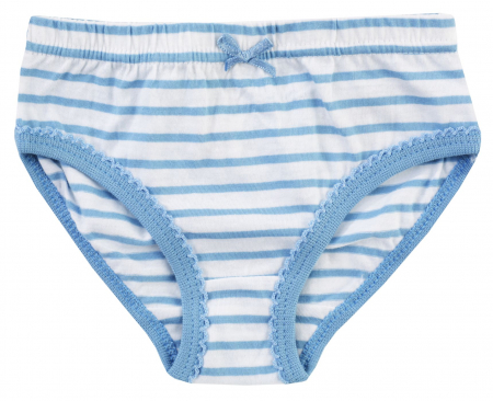 Chiloti fete, Set 4 bucati, albastru/roz/alb1