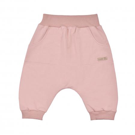 Pantalon scurt cu buzunare_fete_Roz0