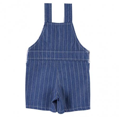 Salopeta vara cu pantalon scurt_baieti_Albastru_BIKE1