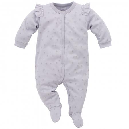 Pijama tip salopeta intreaga cu talpa bumbac 100%_Magic0