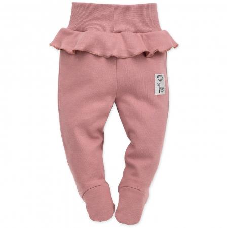 Pantalon pijama cu talpa bumbac 100%_Petit Lou0
