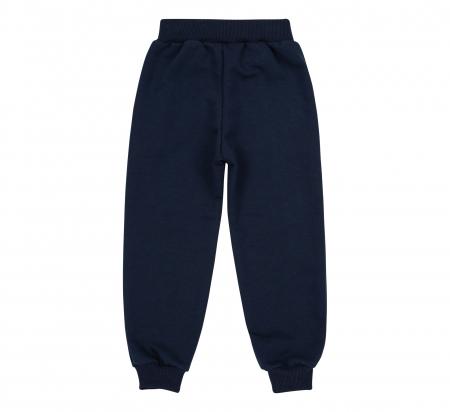 Pantalon trening cu buzunare, baieti, Gri petrol/Animalute [1]