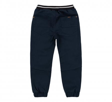 Pantalon lung tip blugi, bumbac 100%, baieti, Albastru inchis1