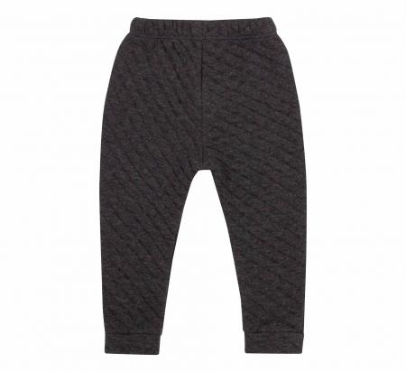 Pantalon lung, fete, Negru/Forme1