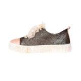 Pantofi din piele, fete, Auriu, Asia Dark [2]