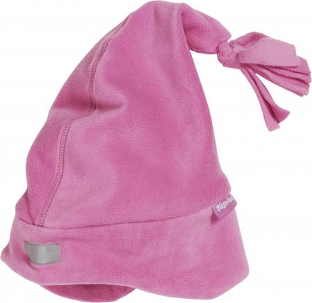 Caciula din fleece, calitate OEKO-TEX, cu banda reflectorizanta, ciucur si protectii urechi0