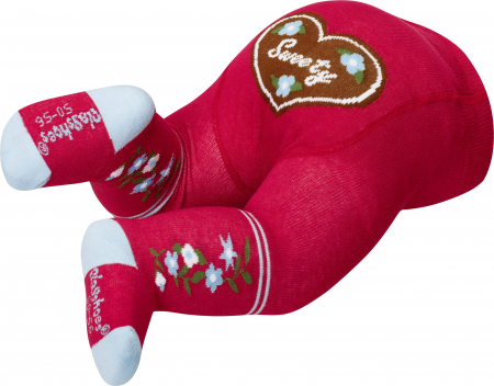 Ciorapi cu model, cu banda confortabila, calitate OEKO-TEX2