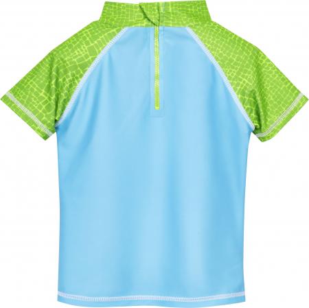 Costum baie din 2 piese, protectie UV 50+, baieti, Albastru/Verde, Dino [2]