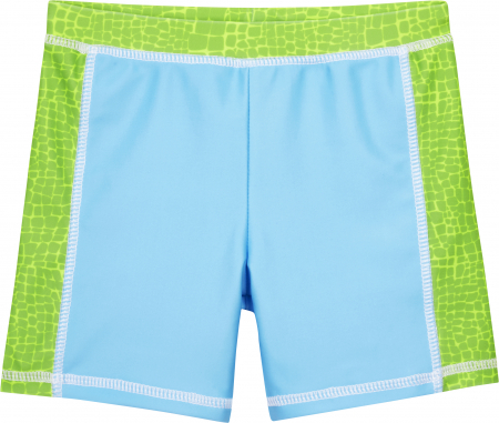 Costum baie din 2 piese, protectie UV 50+, baieti, Albastru/Verde, Dino [1]