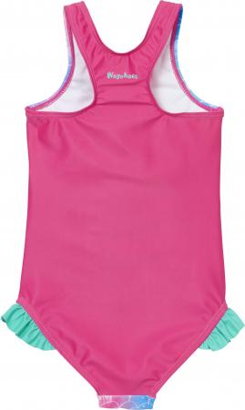 Costum de baie intreg, protectie UV50+, fete, Roz/Sirena [1]