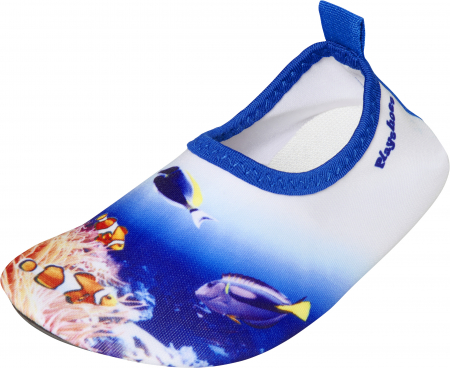 Incaltaminte apa, anti-alunecare, protectie UV50+, baieti, Albastru/Alb, Underwater [0]