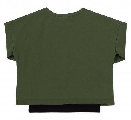 Set bluza maneca lunga+hanorac, Verde/Negru, unisex, Safary [1]