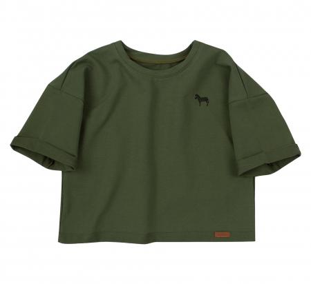 Set bluza maneca lunga+hanorac, Verde/Negru, unisex, Safary [2]