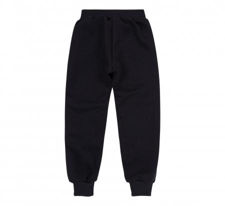 Pantalon lung trening cu buzunare, baieti, Negru, Alien1